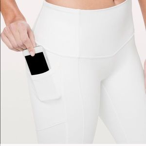 Lululemon all the right places crop pants